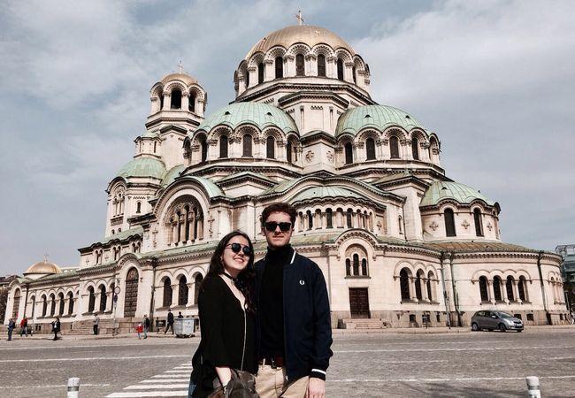 imagen de la experiencia de viajar con Drumwit contada por Naiara y Daniel