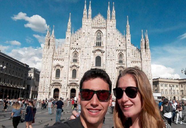 imagen de la experiencia de viajar con Drumwit contada por Lorena y Álvaro